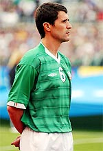 Ireland sẽ mạnh lên nhiều khi Roy Keane trấn giữ khu vực giữa sân.