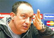 HLV Benitez luôn mong mỏi cuộc chuyển nhượng Morientes thành công.