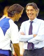 Nội bộ Inter đang rất vui vẻ chứ không căng thẳng như mấy tuần trước.