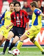 Milan rất khó khăn mỗi khi gặp những đối thủ có sức chiến đấu mạnh mẽ.