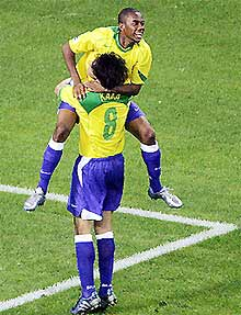 Không thể cản nổi sức mạnh của Brazil.