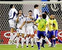 Pha sút phạt thành bàn của Juninho.