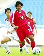 Tham vọng của Việt Nam phụ thuộc nhiều vào phong độ của Kim Chi.