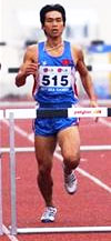 Bảo Huy tại SEA Games 2003.