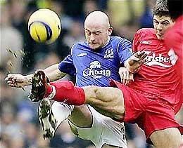 Everton gặp Liverpool sẽ là trận derby khó quên nếu có tại Champions League.