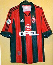 Opel cũng tài trợ cho Milan.