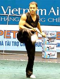 Bệnh tật đã không cho Lê Quang Huy tiếp tục trổ tài trên thảm đấu.
