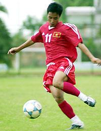 Ngọc Linh liệu có thể trụ lại được ở đội U23 QG. Ảnh: Anh Tuấn