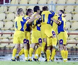 Trang sử mới cho bóng đá Ukraina.