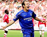 Robben sau khi ghi bàn ấn định thắng lợi.