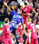 Liverpool - Chelsea, căng thẳng nhưng thiếu bàn thắng.