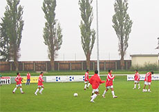 U23 Việt Nam tại Áo.