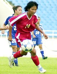 Đích mà đội nữ Việt Nam hướng tới là SEA Games 23. Ảnh: Anh Tuấn