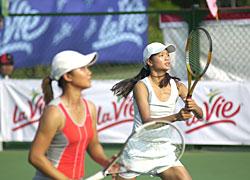 Thùy Dung và Việt Hà vượt trội ở giải năm nay.