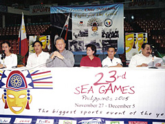 Philipines đang ráo riết chuẩn bị cho SEA Games.