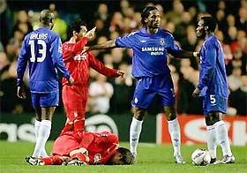 Diễn biến trong trận Chelsea 0-0 Liverpool.