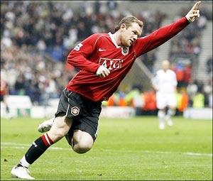 Ngày của Rooney. Ảnh: AFP.