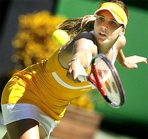 Nicole Vaidisova, hiện tượng của giải năm nay.