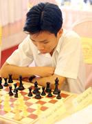 Trần Thanh Tú - HCV U.18 nam nội dung cờ chớp.