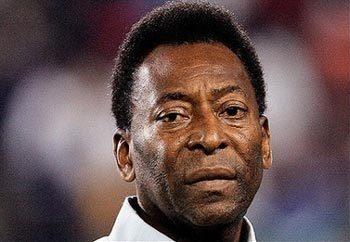 """""""Vua"""" Pele trăn trở cho đội tuyển Anh."""