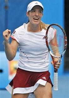 Justine Henin.