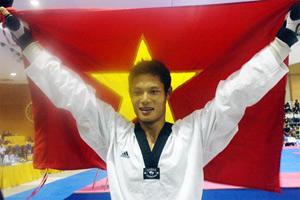 Nguyễn Văn Hùng không có đối thủ tại SEA Games. Ảnh: Doãn Mạnh.
