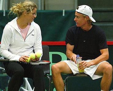 Hewitt và Clijsters từng là cặp tình nhân lý tưởng nhất làng quần vợt đầu thế kỷ 21.