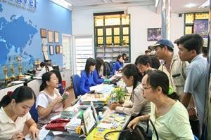 Khách đăng ký đi Thái Lan tăng vọt. Ảnh: V.Thảo