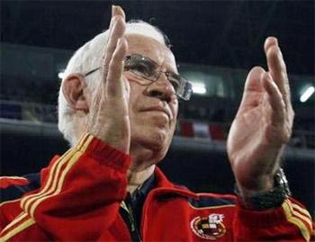 HLV Luis Aragones của Tây Ban Nha.