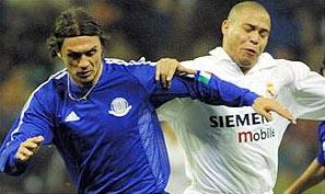Maldini và Ronaldo R9.