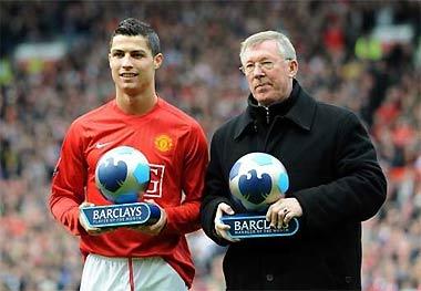Ronaldo được chính Ferguson dìu dắt từ một cầu thủ tiềm năng trở thành một trong những ngôi sao sáng nhất thế giới.
