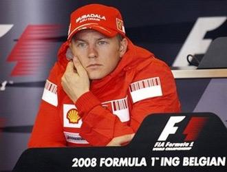 Kimi Raikkonen. Ảnh: AP.