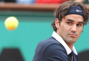Roger Federer. Ảnh: AP.