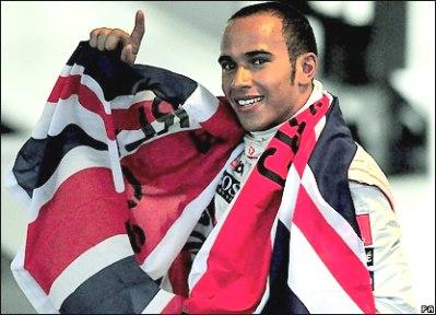 Ông hoàng mới của làng đua F1. Ảnh: PA.