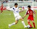 Tiền đạo Lee Nguyễn vẫn chưa chứng tỏ nhiều sau hai trận đấu và HAGL đã thua cả hai trận. Ảnh: An Nhơn.