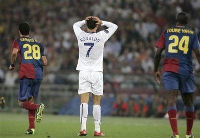 Nếu sang Real thì CR7 sẽ có nhiều cơ hội tái ngộ Barca.
