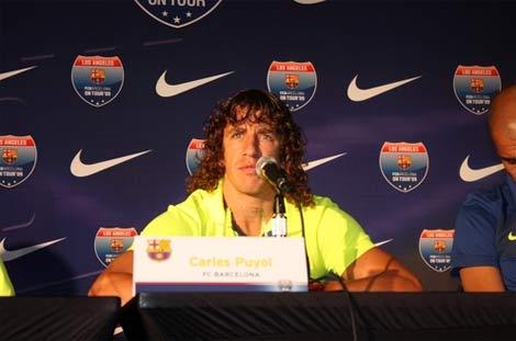 Puyol là trung vệ dày dạn kinh nghiệm nhất của Tây Ban Nha.