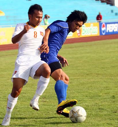Nếu vắng Trọng Hoàng, sức mạnh của hàng tiền vệ U23 Việt Nam sẽ bị ảnh hưởng.