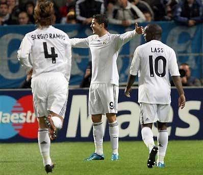 Ronaldo đã đạt phong độ cao, ghi hai bàn trong chiến thắng 3-1 trước Marseille.