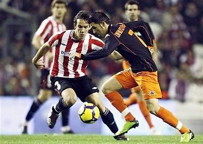 David Villa của Valencia là tiền đạo đang dẫn đầu danh sách ghi bàn tại Liga.