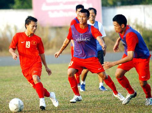 U23 Việt Nam thoải mái trước trận quyết đấu.