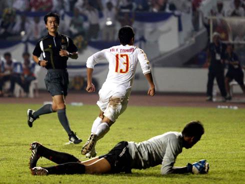 Mai Tiến Thành đã có 5 bàn thắng ở SEA Games 25.