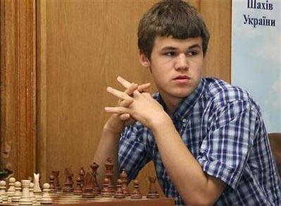 Carlsen đang làm kinh ngạc giới hâm mộ môn thể thao trí tuệ.