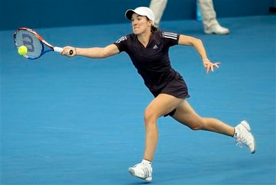 Justine Henin. Ảnh: AP.