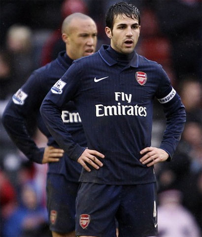 Arsenal đã chơi rất cố gắng, nhưng lực bất tòng tâm rời Cup FA trong thế cúi đầu. Ảnh: Reuters.