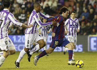 Chưa đội nào có thể cản được Barca ở Liga mùa giải 2009-2010.