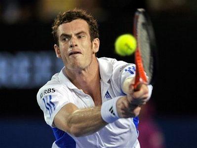 Andy Murray. Ảnh: AP.