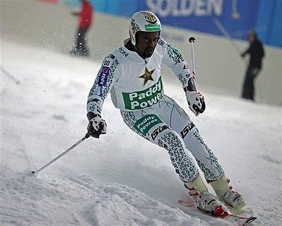 Kwame Nkrumah-Acheampong, VĐV người Ghana, luyện tập để chuẩn bị cho Thế vận hội 2010.