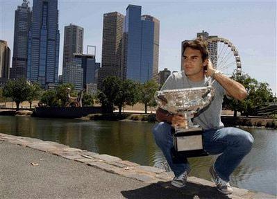 Roger Federer vẫn trên đỉnh cao quần vợt thế giới. Ảnh: AP.