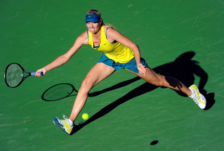 Sharapova vẫn chưa thể trở lại đỉnh cao phong độ. Ảnh: AFP.